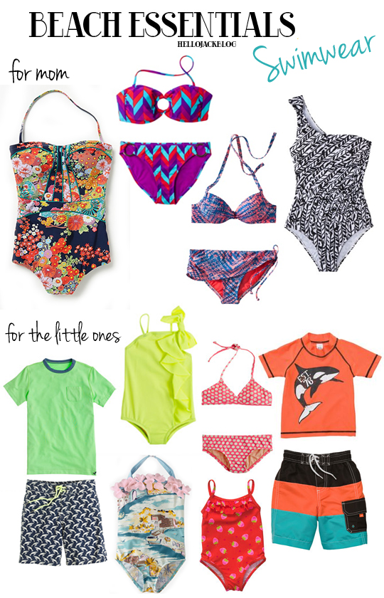 Hello Jack Blog - Beach Essentials: Swimwear