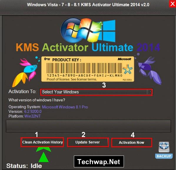Windows 8.1 KMS Activator Ultimate v2.0