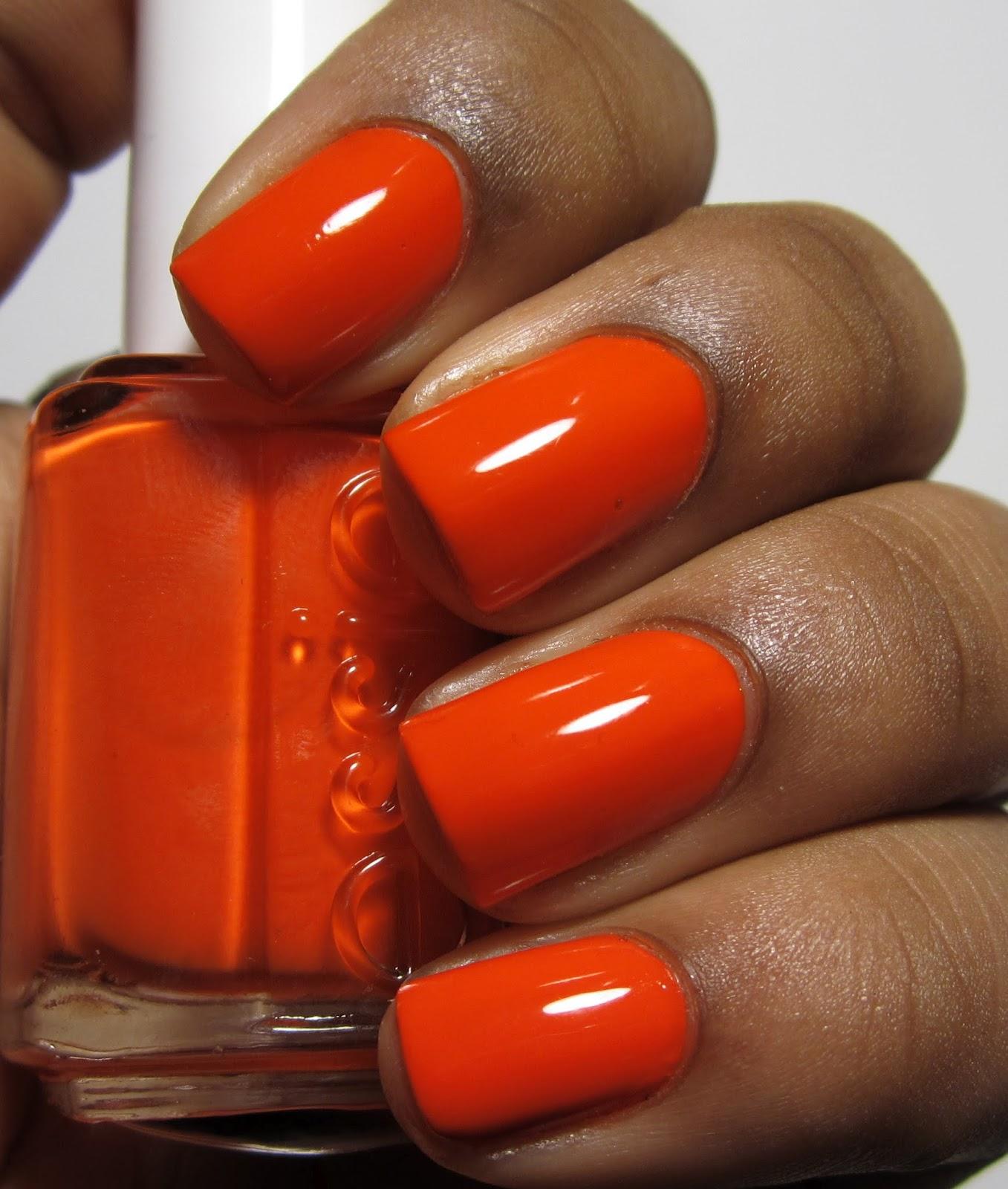 Addicted To Polish: Essie Orange, It's Obvious