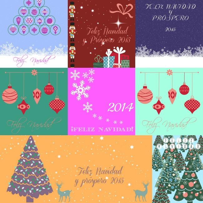 Mcompany style 26 postales de navidad listas para enviar - Tarjetas de navidad para enviar ...