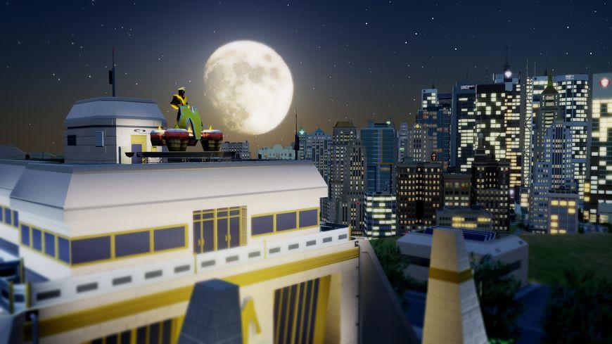 Супергерой игры SimCity - Максимэн (MaxiMan)