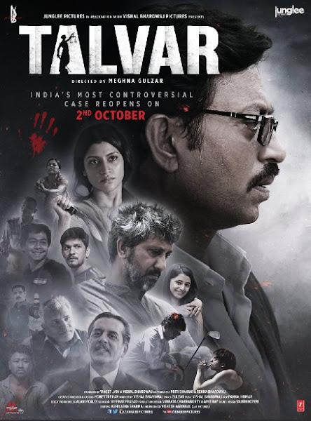 Poster Of Talvar 2015 720p BRRip Hindi 5.1Ch