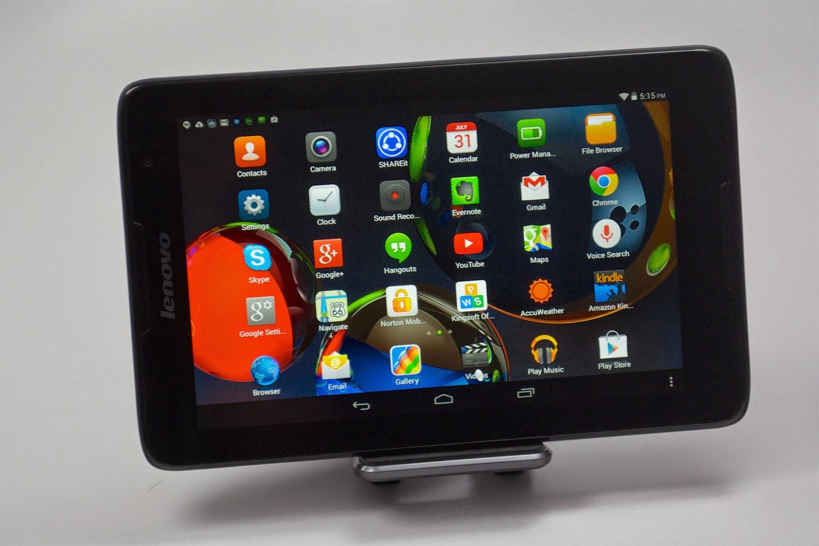 Spesifikasi Lenovo Tab A8