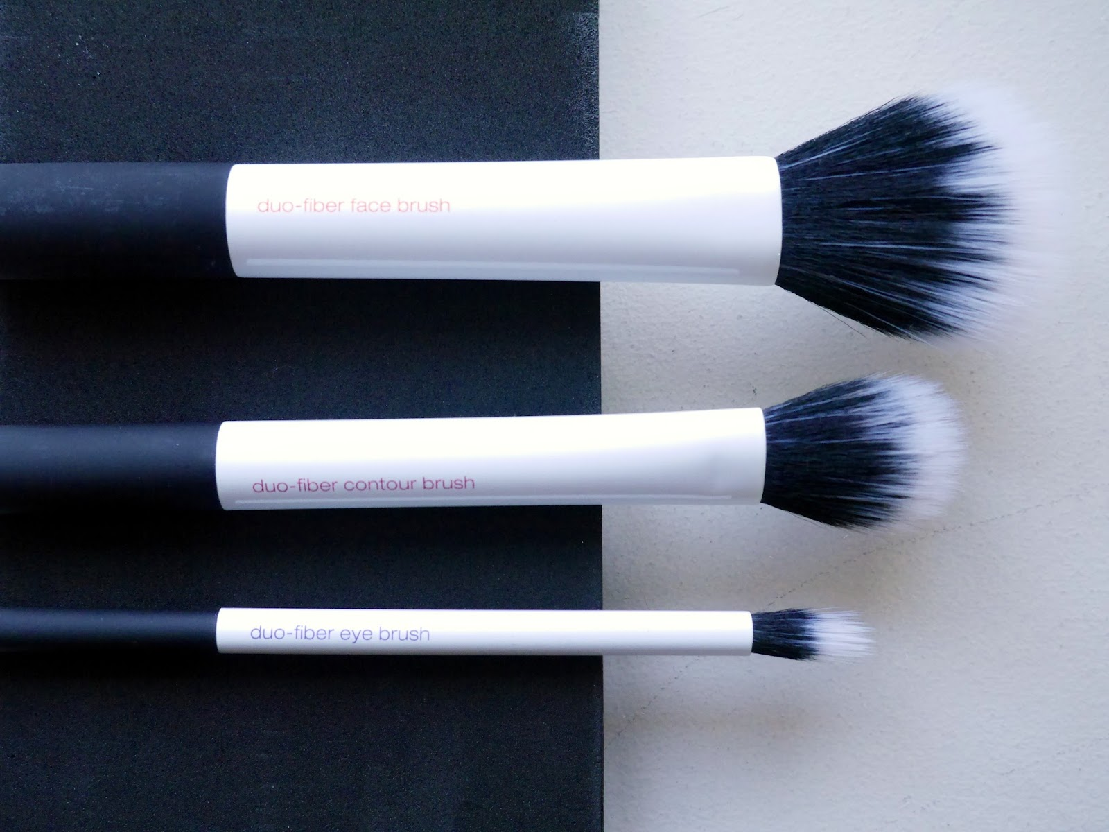 Real Techniques Duofiber Brush Collection review