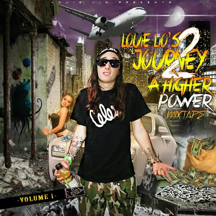 Louie Lio - Journey 2 A Higher Power vol. 1 Mixtape image