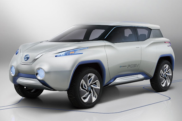 Nissan TeRRA SUV Concept 2012 front
