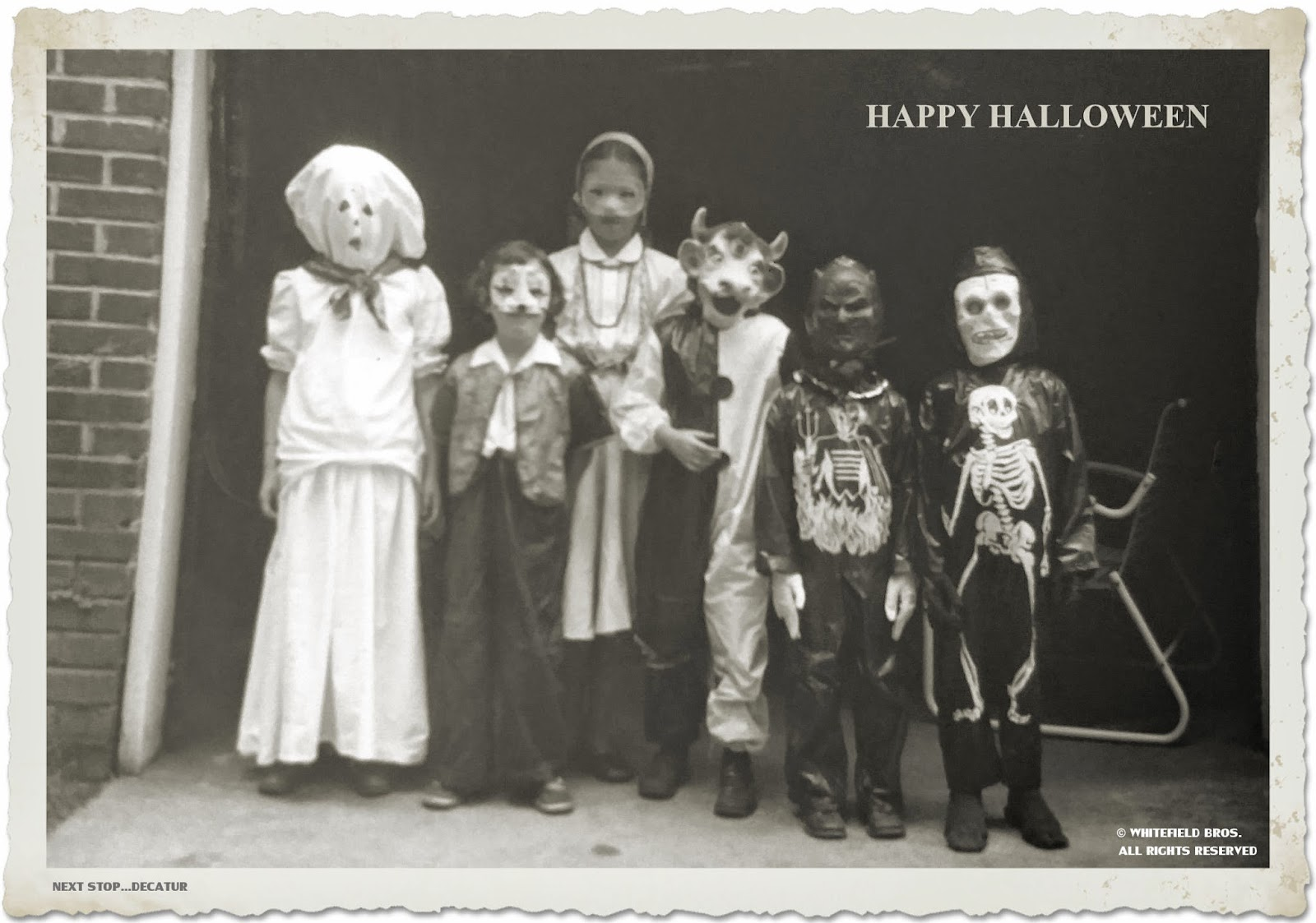 happy halloween from a 1950s decatur ga