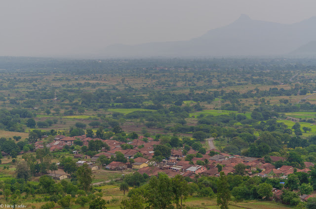 beautiful hilly indian village