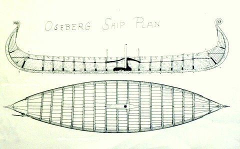 Byzantium Novum Militarium: Osberg Ship Plan