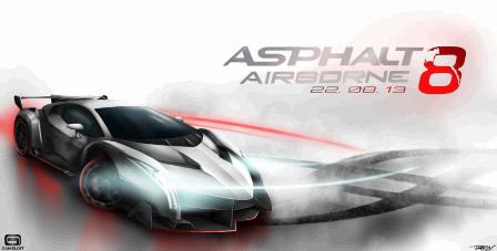 Asphalt 8: Airborne v1.3.2a APK Mod (Money/Star/Xp/Eng/No Ads)
