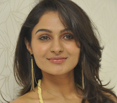 gorgeous hot exotic Andrea jeremiah latest hot photos at tadakha press meet
