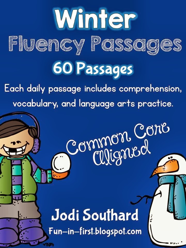 http://www.teacherspayteachers.com/Product/Winter-Fluency-Packet-December-January-February-264862