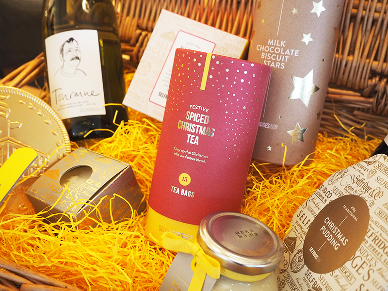 Selfridges Christmas hamper