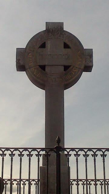 Cruz conmemorando la llegada de Ansgar