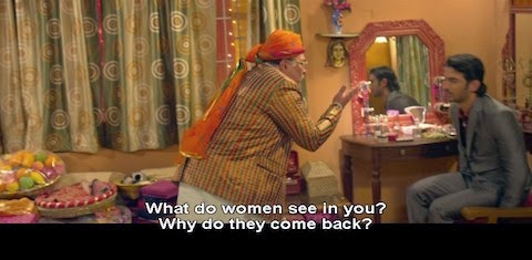 What do women see in you? Why do they come back?