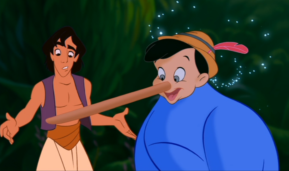 Pinocchio Lying Png