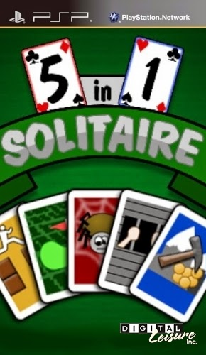 5 in 1 Solitaire PSP
