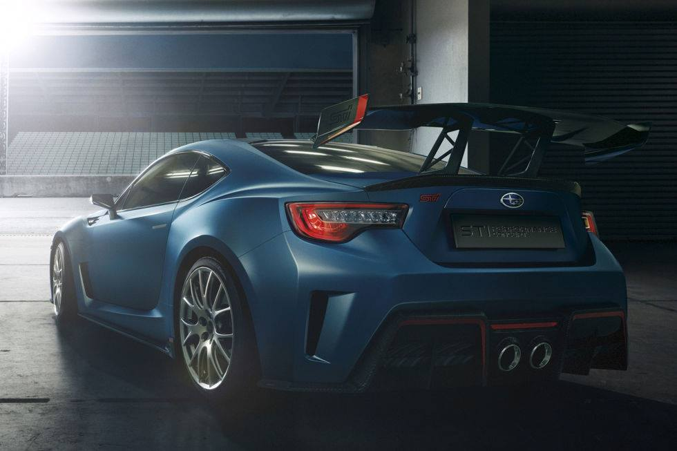 Ny Auto Show S Subaru Brz Sti Concept This Is It Carscoops