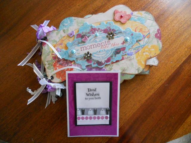 Unique Wedding Gifts For Niece : Deanna Lynns Designs: Wedding gift for my husbands niece!!!