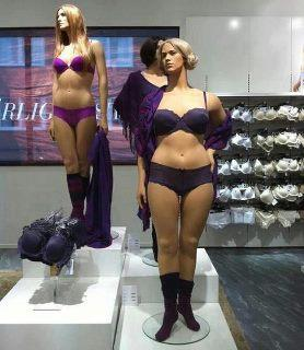 These Swedish mannequins have realistic proportions, soft tissue, and actually look like real women.