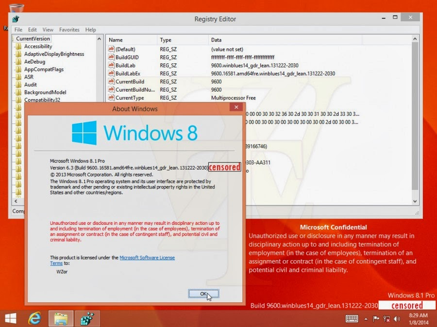 Windows 8.1 Spring AIO 20in1 x32/x64Pre-Activated DaRT 8.1 Mar2014