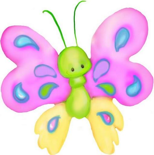 Dibujos coloreados mariposas para imprimir - Imagenes y dibujos para ...