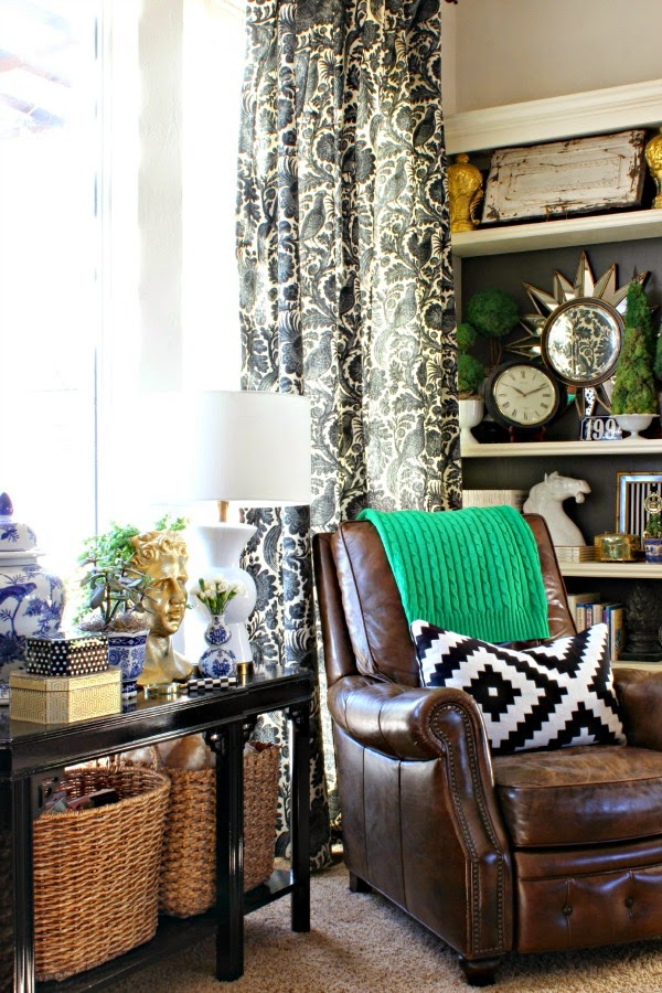 My winter living room dimples and tangles - Living room corner decor ...