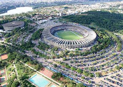estádio do Mineirão.