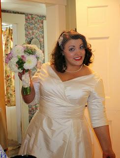 vintage modern bride foxburrow vintage