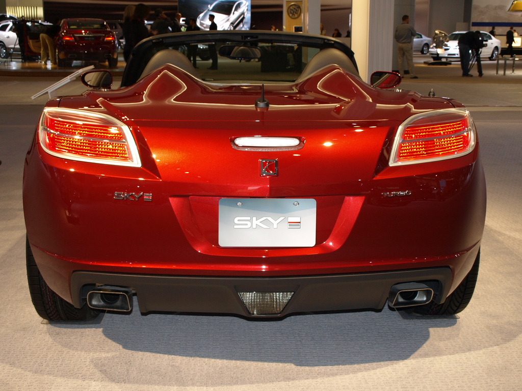 Saturn Sky Turbo Car