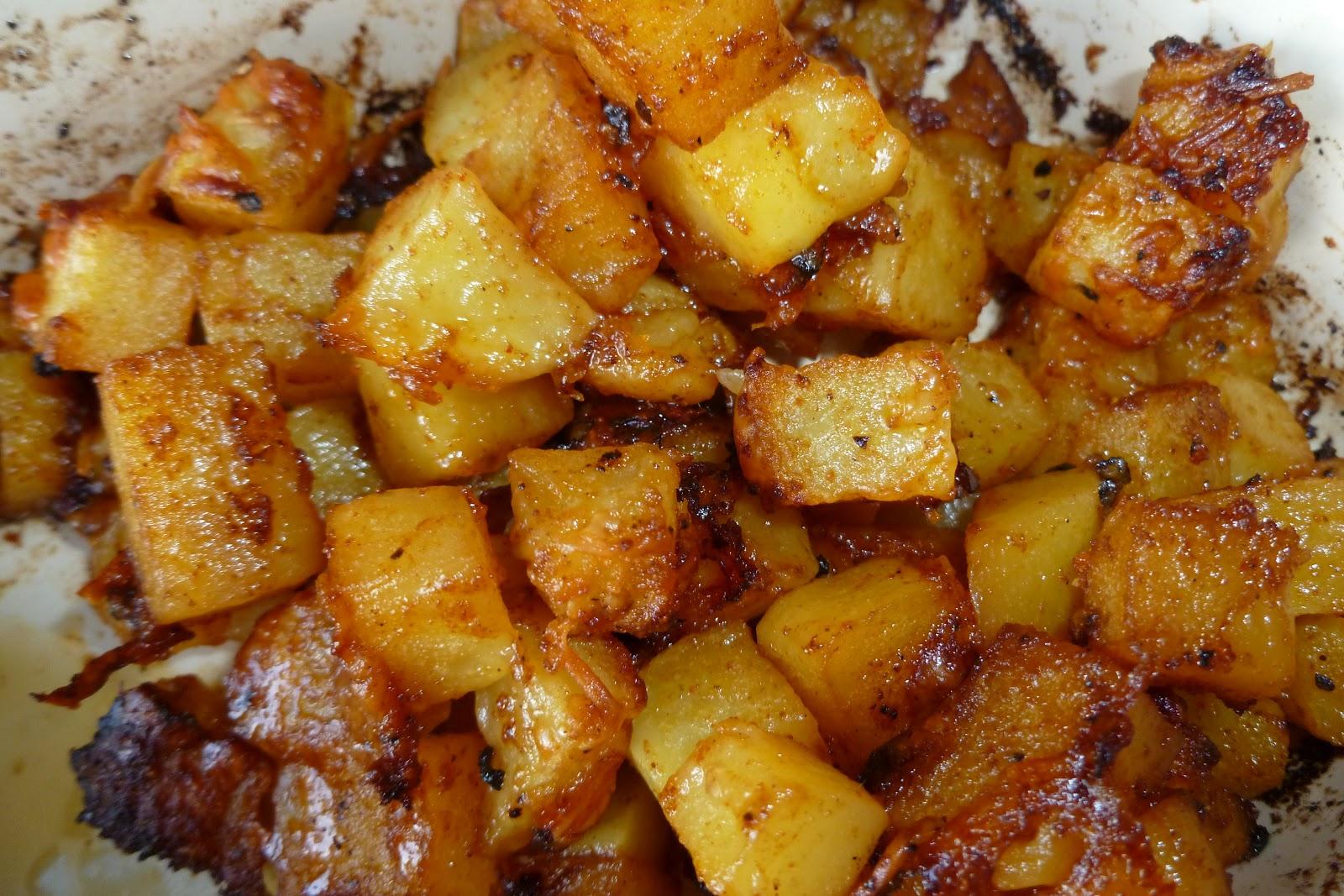 Parmesan Roasted Potatoes Recipe — Dishmaps