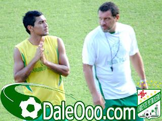 Oriente Petrolero - Alcides Peña, Roberto Pompei - DaleOoo.com página Club Oriente Petrolero