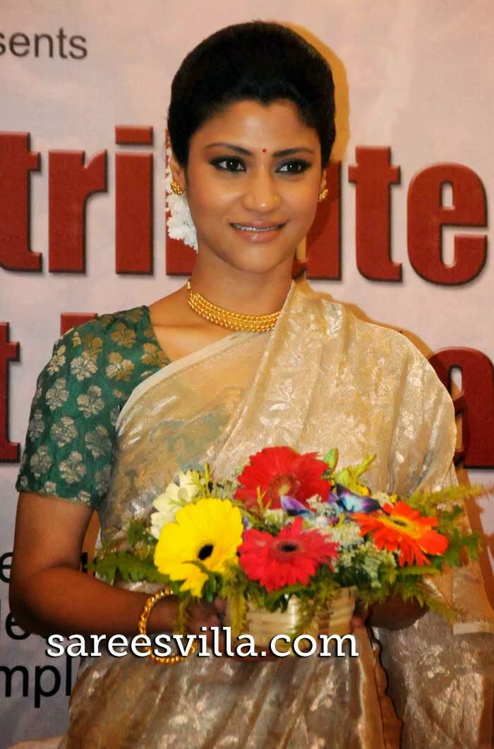 Konkona Sen Sharma In Saree