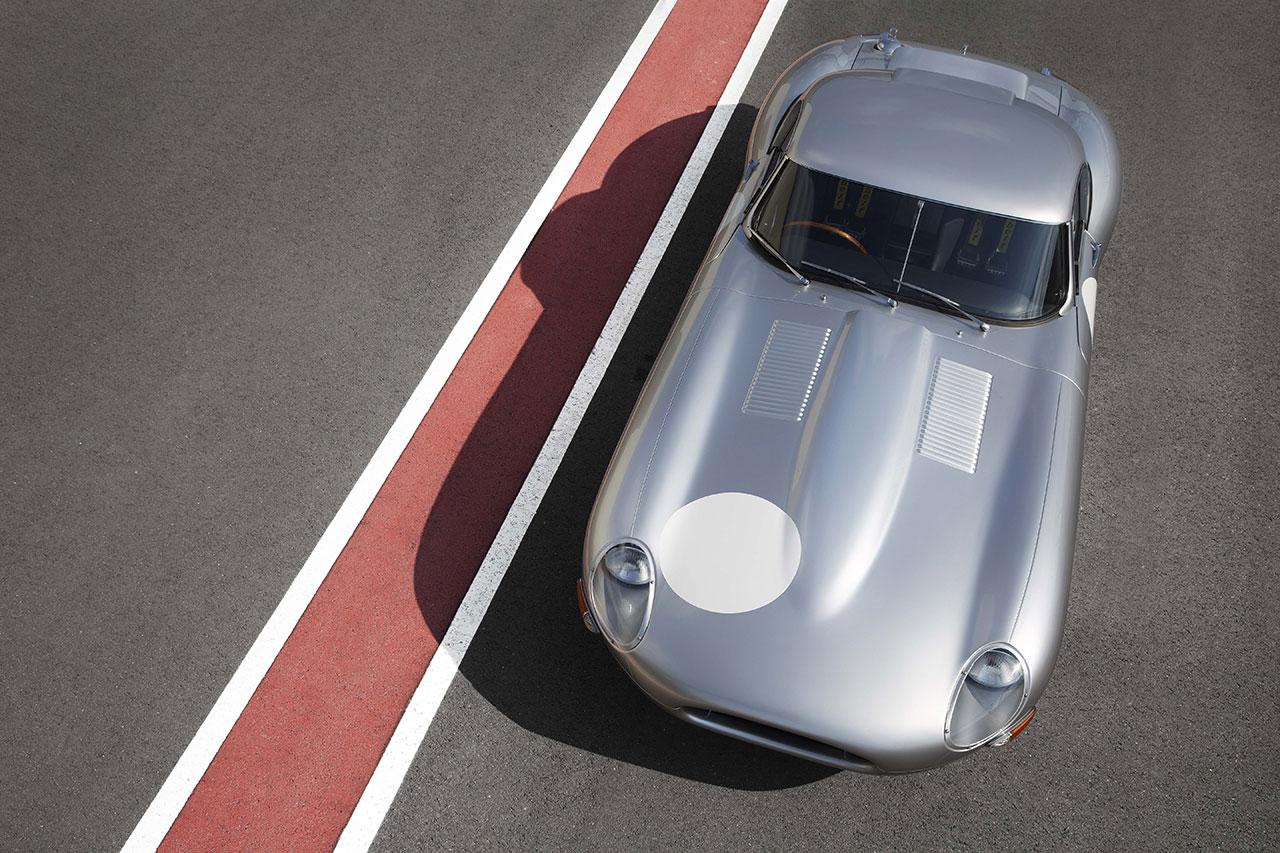 Jaguar Lightweight E-Type top