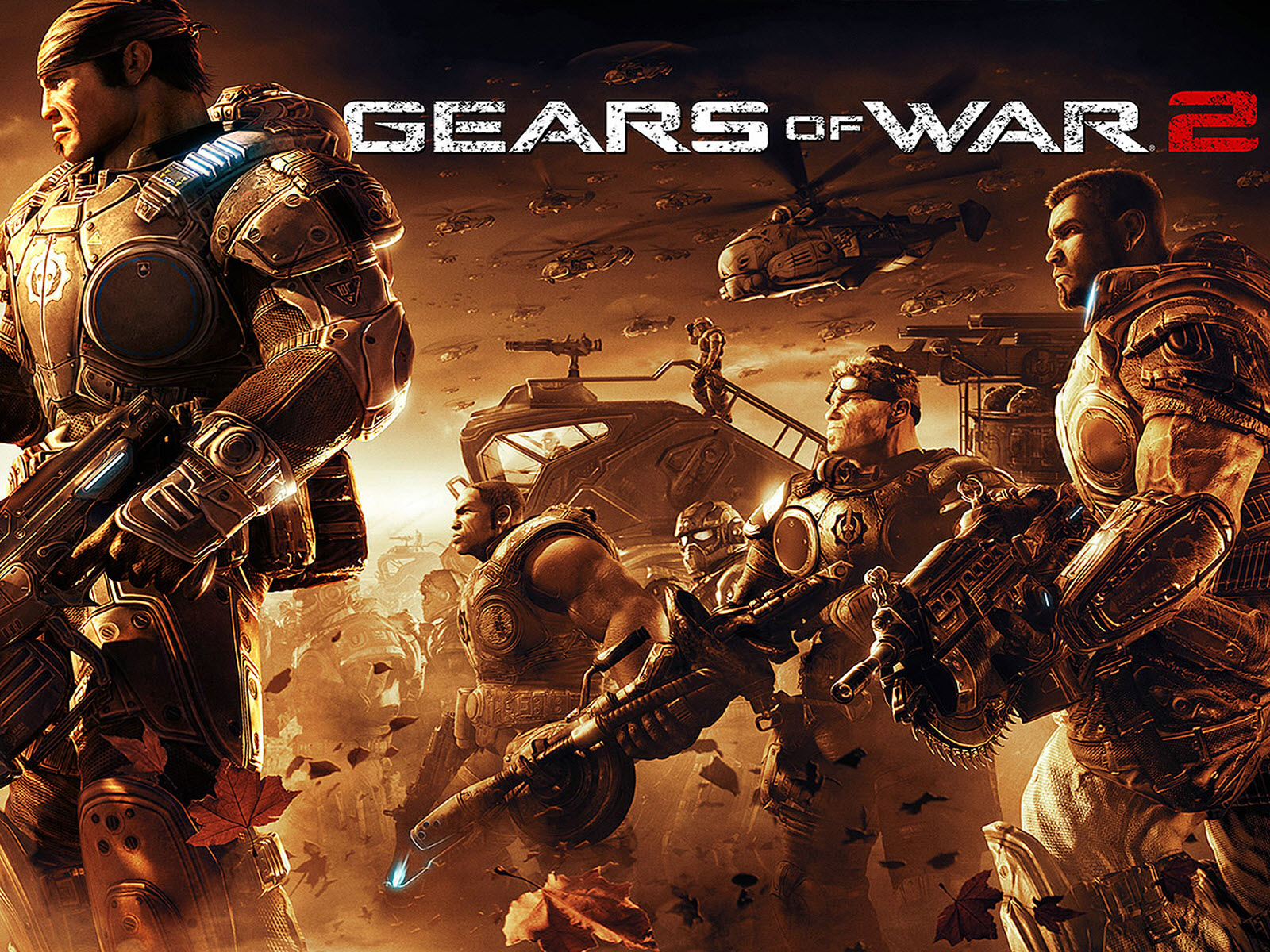 Gears of War HD & Widescreen Wallpaper 0.0525152752028692