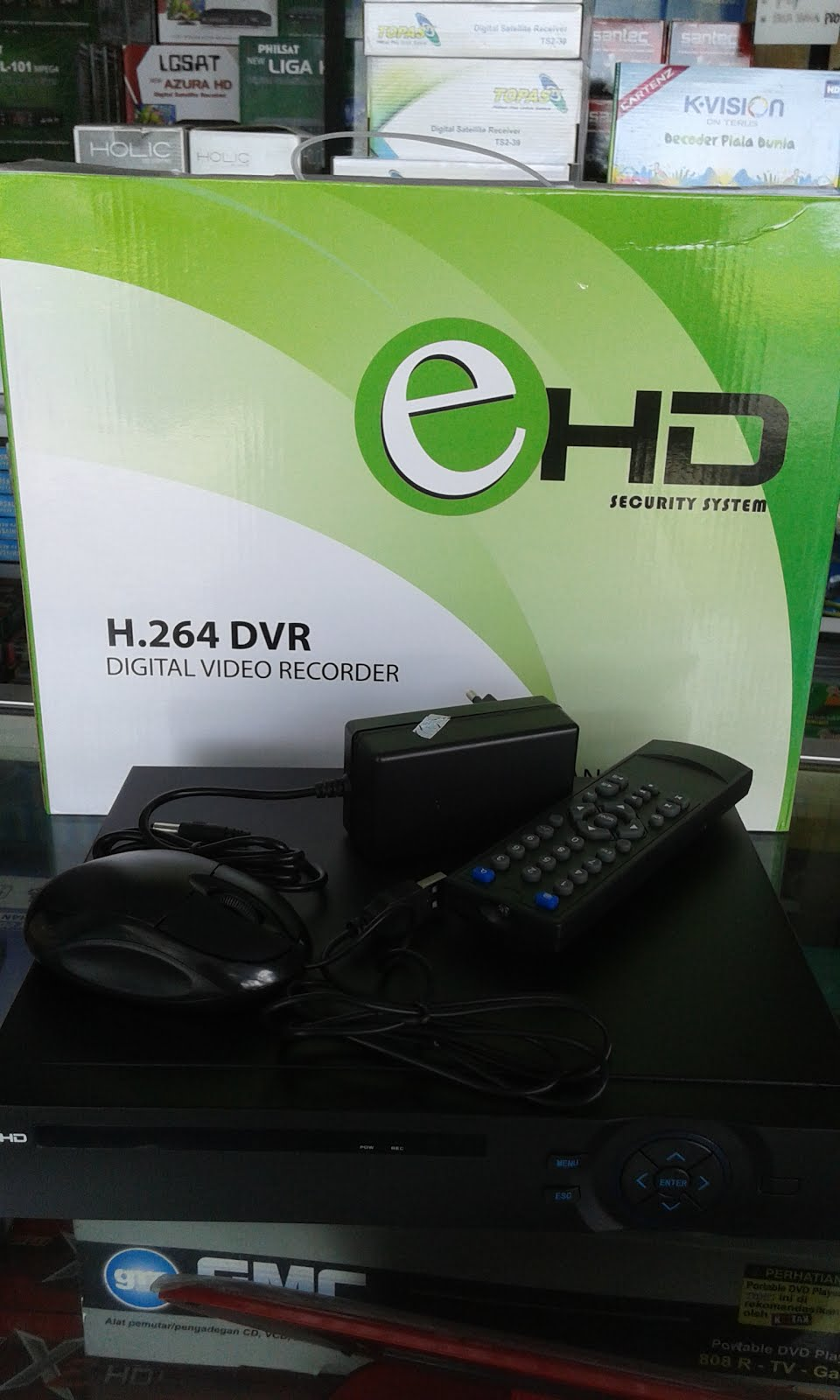 DVR E HD