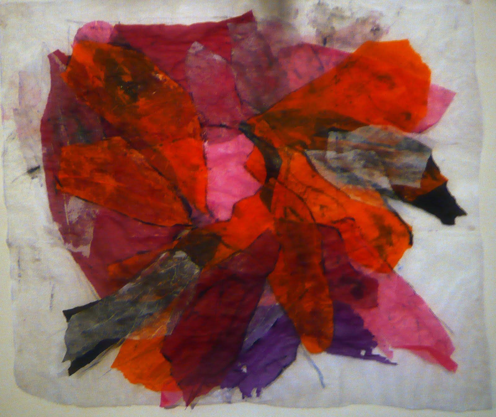 peinture collage
