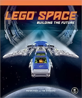Lego Space: Building the Future book cover