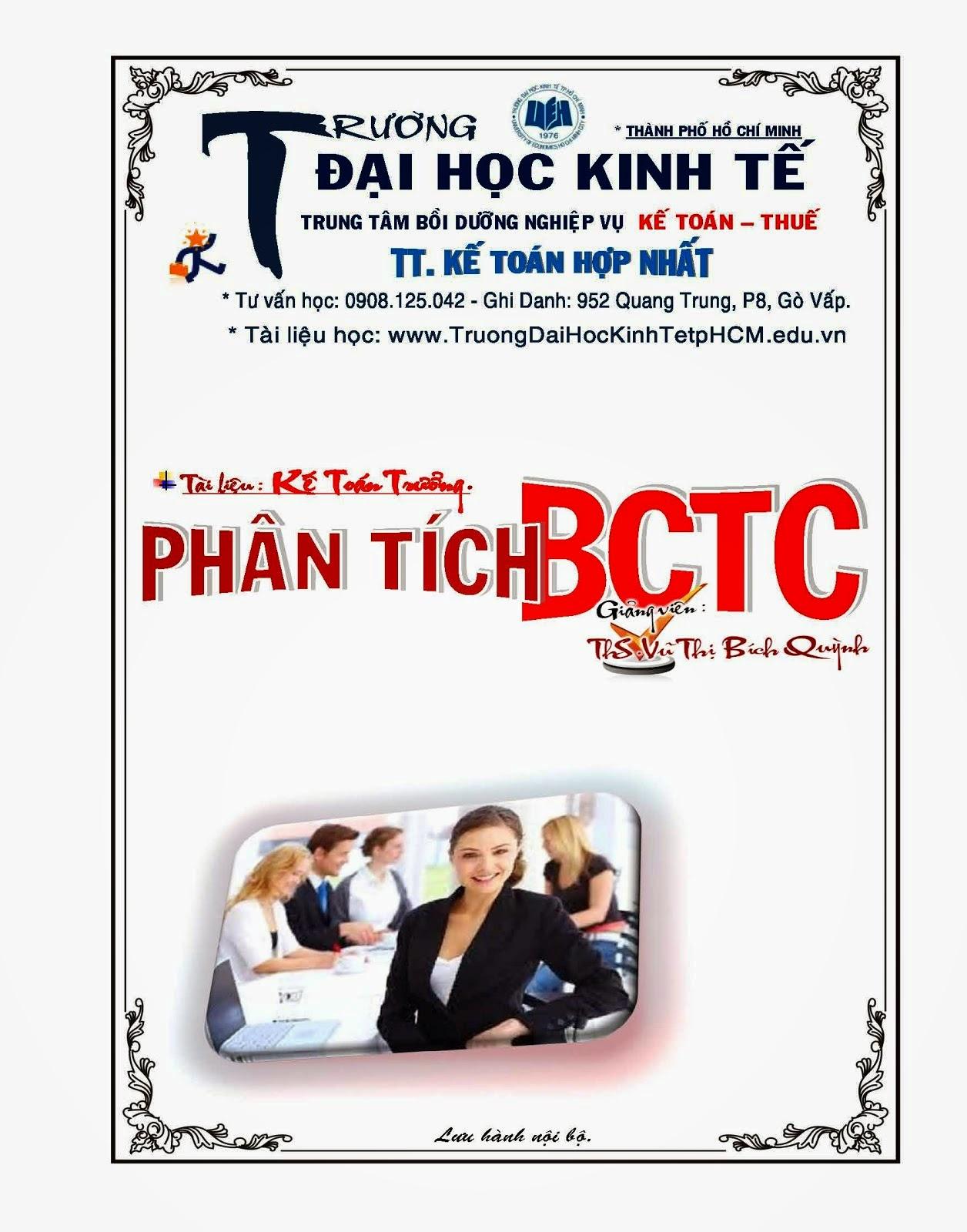 Phân Tích BCTC