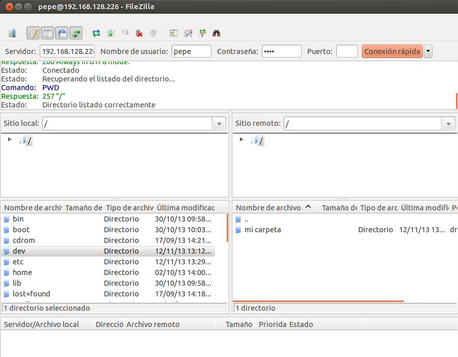 Administraci�n de Sistemas y Seguridad: Servicios FTP � NAS � SSH ...