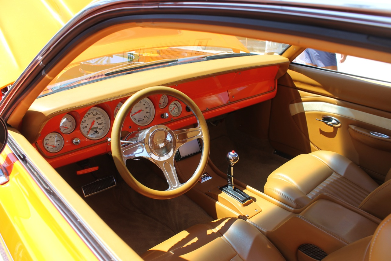 Custom Muscle Car Interior Inside You 39 Ll Find A Custom