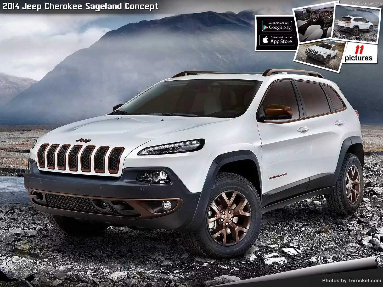 Hình ảnh xe ô tô Jeep Cherokee Sageland Concept 2014 & nội ngoại thất