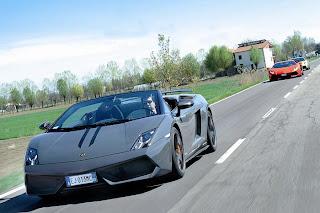 Lamborghini Gallardo Performante front view