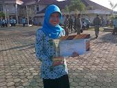 Juara 3 Duta  Mahasiswa Genre BKkbN Lampung