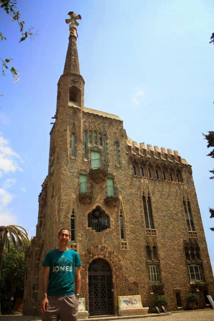 Torre Bellesguard designed by Antoni Gaud