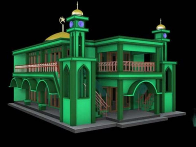 30 Model Masjid Minimalis Dengan Model Masjid Modern Dari Seluruh
