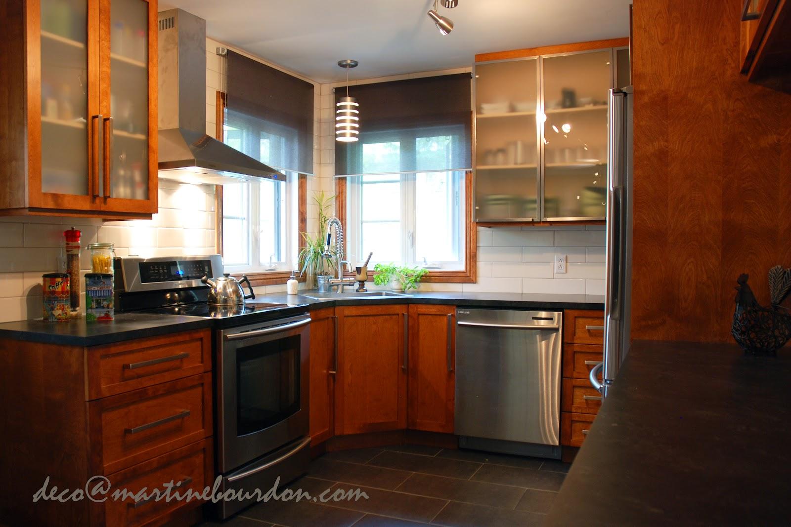 L 39 espace d co un passe plat une cuisine et sa petite - Cuisine et des tendances ...