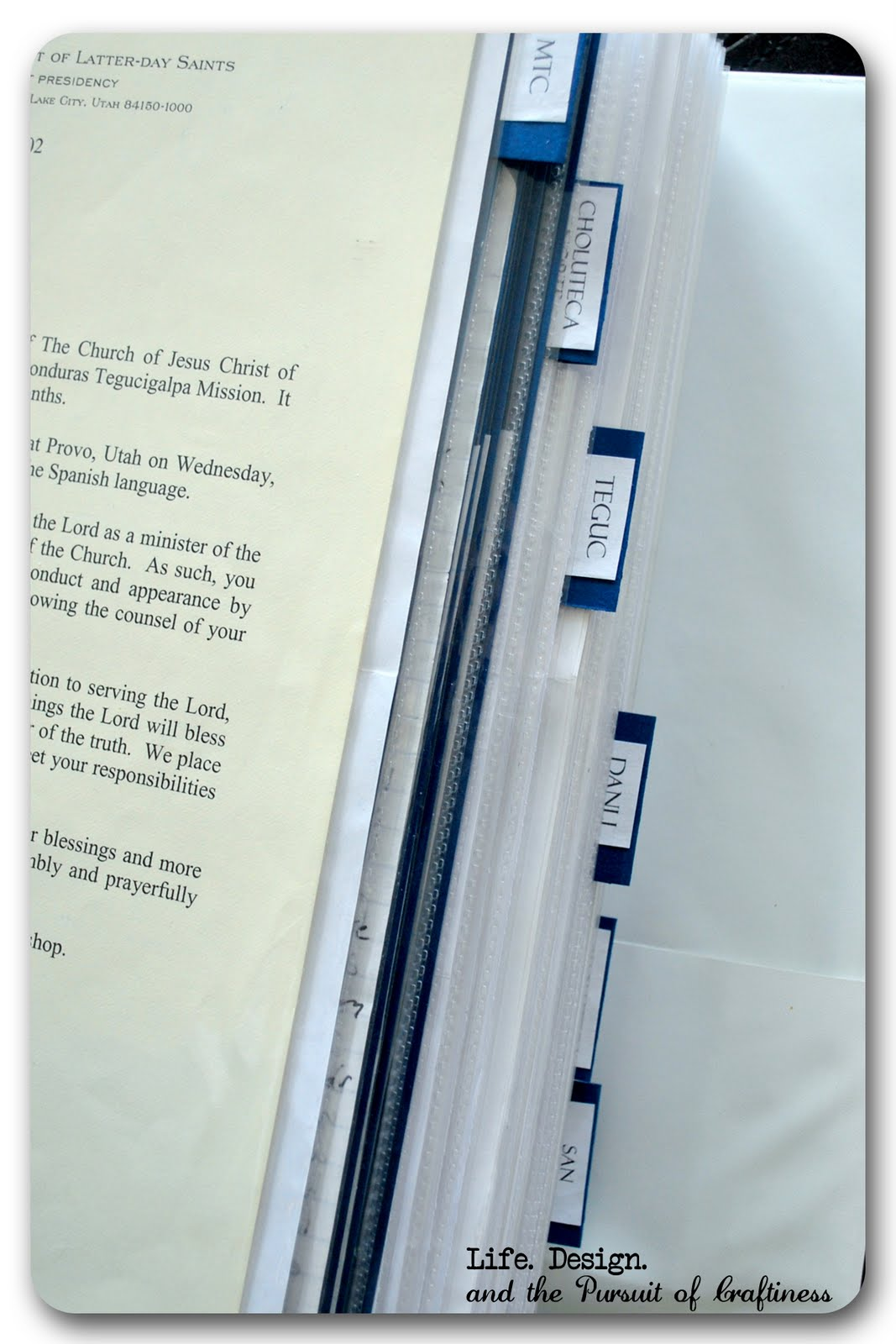mission papers lds