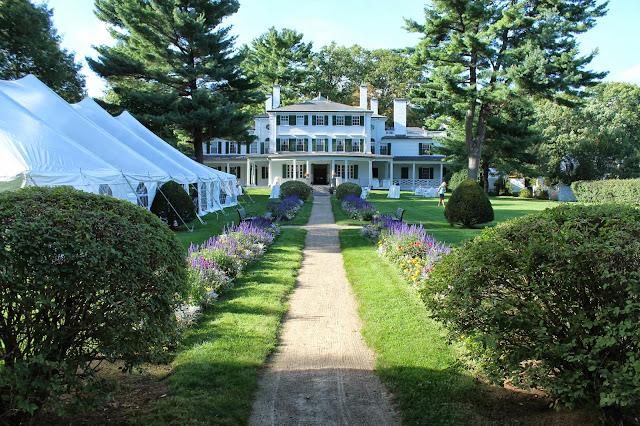 Glen Magna Farms, Danvers, Glen Magna, garden ceremony, garden Boston wedding, garden wedding