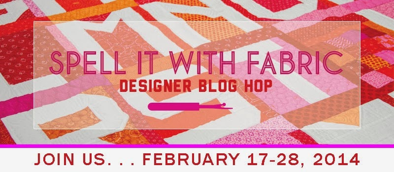 Spell It With Fabric Designer Blog Hop